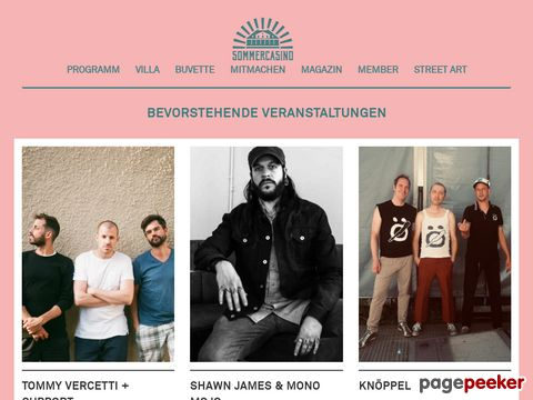 Sommercasino Basel - WE ROCK THE CITY
