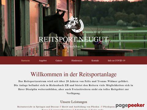 Reiterhof Neugut Cham / Zug