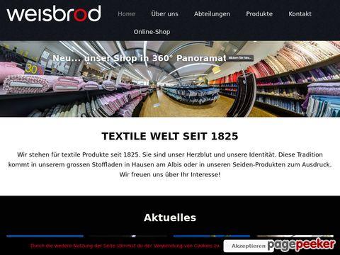 weisbrod.ch - Weisbrod - Das Seiden Krawatten Label aus der Schweiz!
