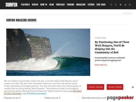 SURFING Magazine - Surfing News, Photos, Videos and Music