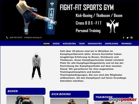 Fight-Fit Sports Gym
