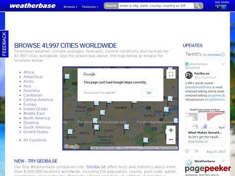 weatherbase.com - Weatherbase