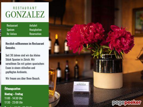 Restaurant Gonzalez - köstliche spanische Spezialitäten