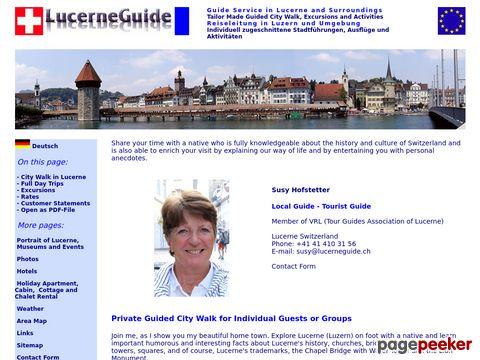 Luzern Lucerne - Stadtführungen, Ausflüge und Aktivitäten