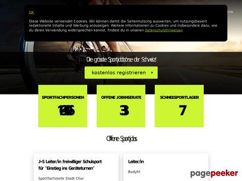 sportnetzwerk.ch - Die Besten vernetzt