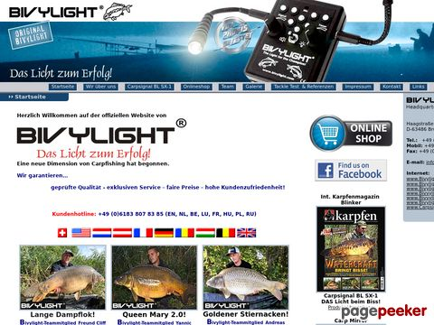 Bivylight - Das Licht zm Erfolg !