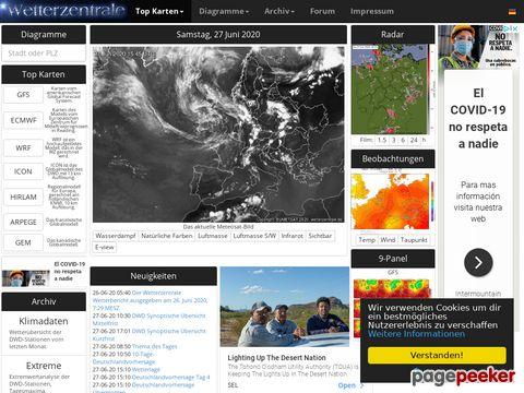 Wetter : Wetterzentrale