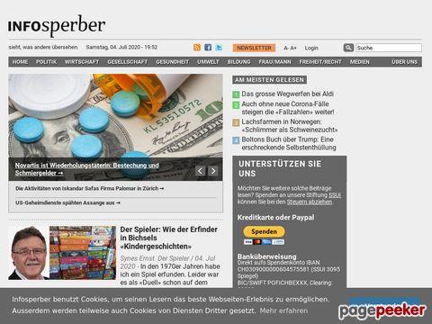 Infosperber.ch - Online-Plattform für unabhängige Informationen