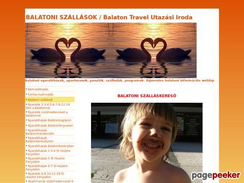 Unterkunfte am Balaton in Ungarn
