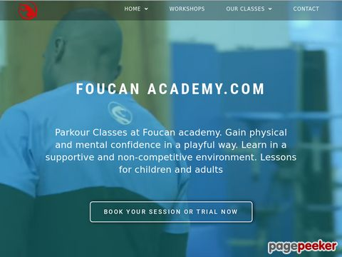FOUCAN.COM - The official site of the founder of freerunning: Sébastien Foucan (FR)