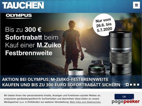 tauchen.de - Europas grosse Tauchzeitschrift