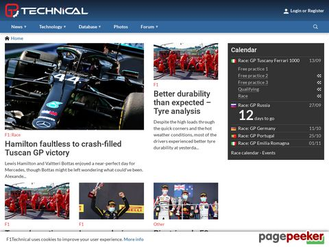F1technical.net - Formula One uncovered!