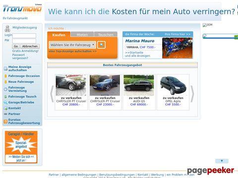transmova.ch - Ihr Fahrzeugmarkt