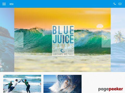 BLUE JUICE Camps - Wellenreiten lernen
