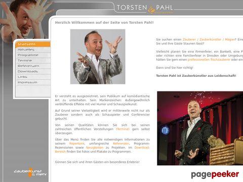 Torsten Pahl - Zauberkünstler & Entertainer - Ihr Zauberer aus Dresden