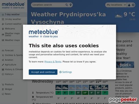 meteoblue.com - Numerical Weather prediction