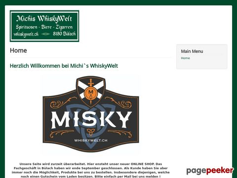 Michis WhiskyWelt - Premium Scotch Single malt Whisky