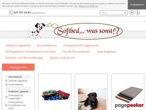 Hundebetten von SOFTBED-VERTRIEB - gesund und unentbehrlich