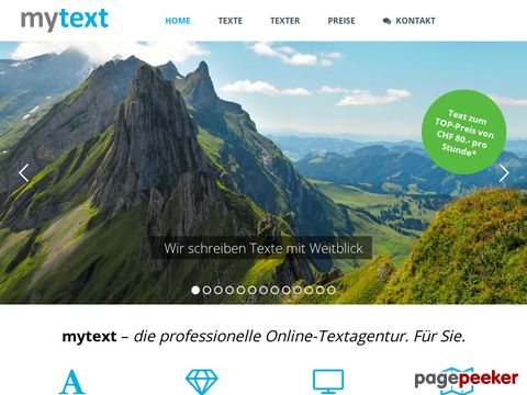 Texter St. Gallen, Textagentur St. Gallen, Texter Winterthur, Texter Zürich, Textagentur Zürich