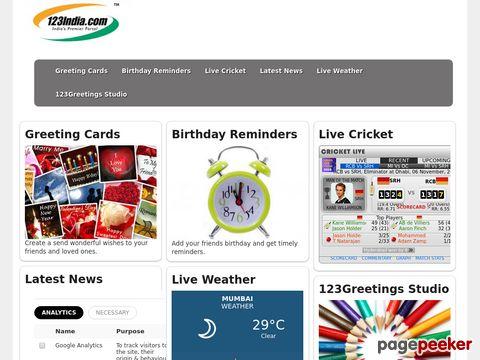 123India.com Cricket