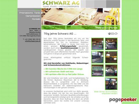 Schwarz AG - Tank- und Apparatenbau