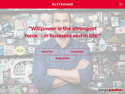 The Official Site of Klitschko Brothers