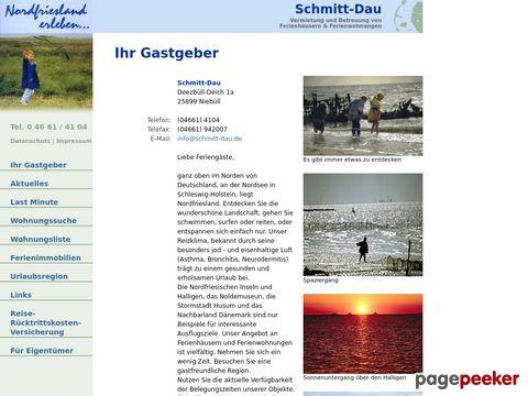 Ferienwohnungen und Ferienhäuser in Nordfriesland/Nordsee und Dänemark