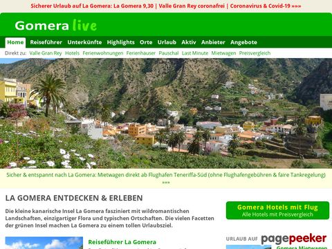 gomeralive.de - La Gomera - Infos, Orte, Strände und mehr