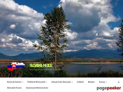 Slowakei-Net.de - Informationen rund um die Slowakei