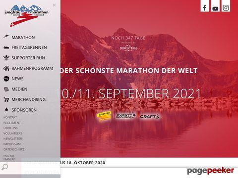 jungfrau-marathon.ch - Jungfrau Marathon (Schweiz)