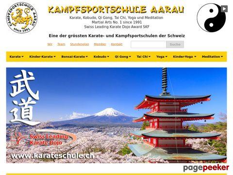 Karate und med. Qi Gong in Aarau - Kampfsportschule Aarau