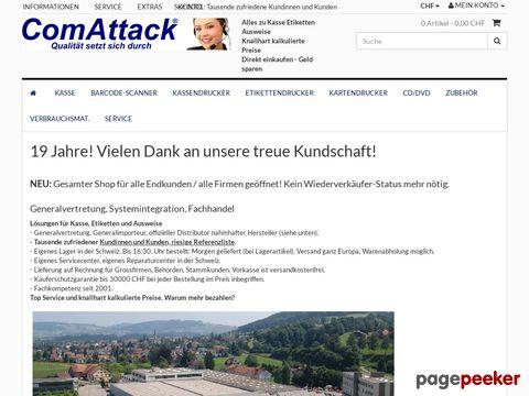 comattack.ch - ComAttack Schweiz GmbH - Qualität setzt sich durch