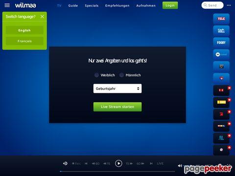 Wilmaa - Das erste kostenlose, browserbasierte WebTV