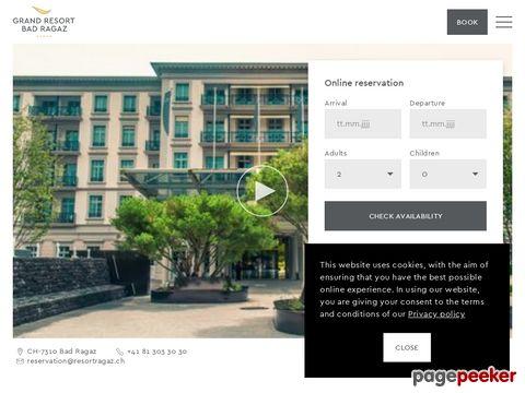 Grand Hotels Bad Ragaz - einzigartige Schweizer Wellness-Quelle