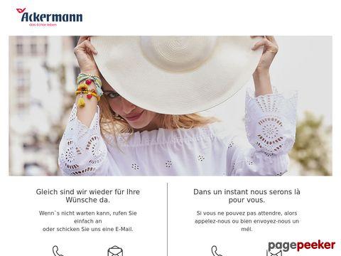 ackermann.ch - Ackermann Online-Shop - Versandhaus