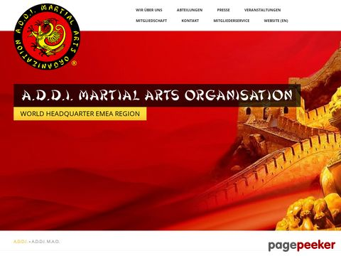A.D.D.I. Martial Arts Organisation