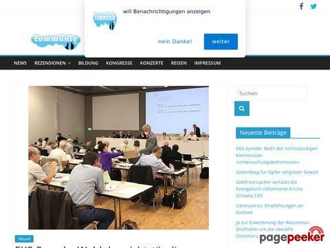 communio.ch - Kirche, Christentum und Religion