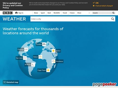 BBC - Weather Centre - UK and World Weather