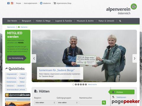 alpenverein.at - Oesterreichischer Alpenverein OEAV