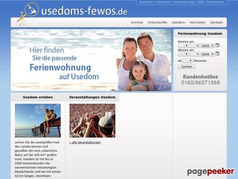 Ferienwohnung Usedom & Ferienhaus Usedom
