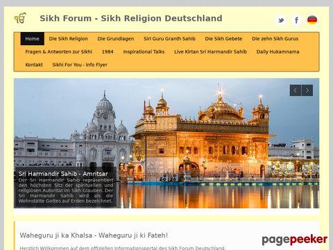 Sikh - Forum | Das Informationsforum über Sikhs und Sikhi - Sikhismus
