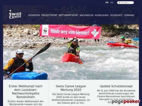 swisscanoe.ch - Schweizerischer Kanu Verband (SKV)