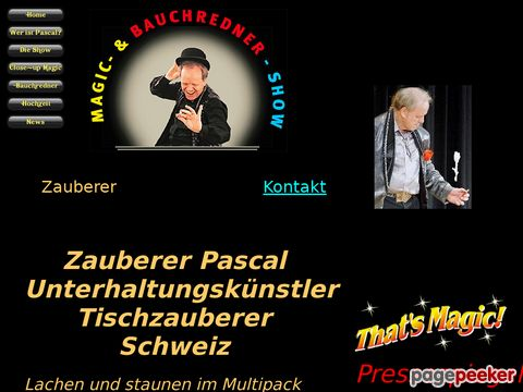 Pascal - Zauber und Tischzauberer - Close-up Magic