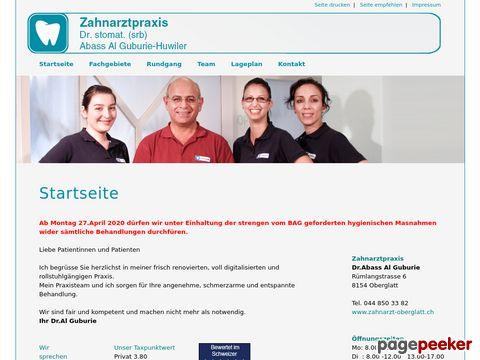 zahnarzt-oberglatt.ch - Zahnarzt in Oberglatt / ZH