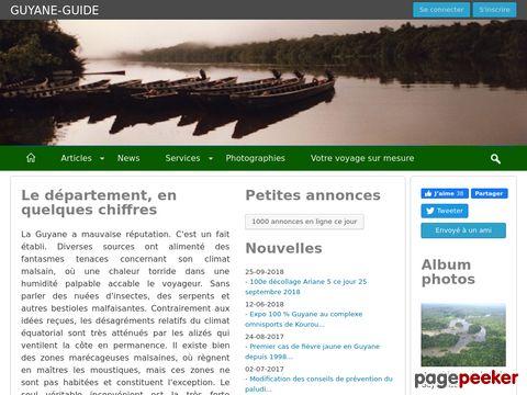 Guyane-guide.com : le portail de la Guyane Française