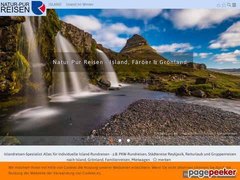natur-pur-reisen.de - Islandreisen