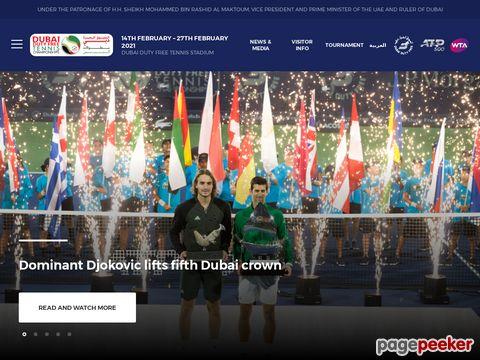 dubai duty free tennis championships (DUBAI)