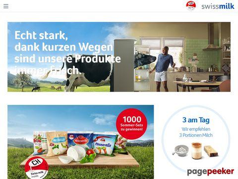 Swissmilk - Informationen rund um die Milch und Milchprodukte