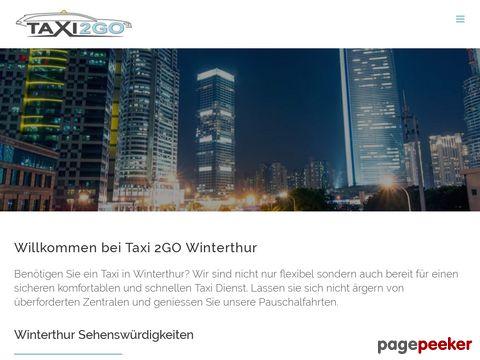 Taxi | Winterthur | Premium Taxiservice | Taxi-2GO