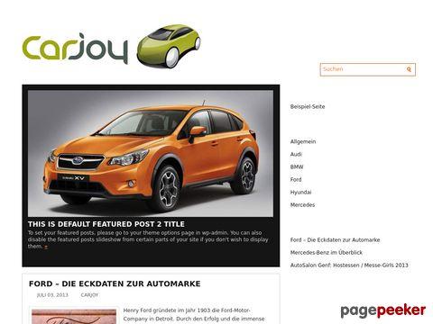 carjoy.ch - Automarkt und Autovideos